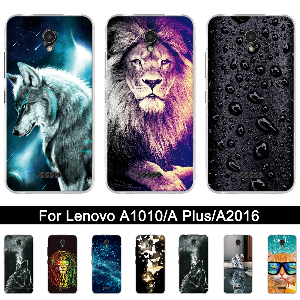 Soft TPU <font><b>Case</b></font> <font><b>For</b></font> <font><b>Lenovo</b></font> <font><b>A1010a20</b></font> A2016a40 4.5