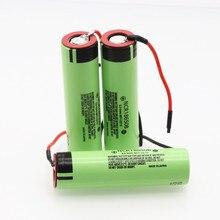 1 10 pces nova ncr18650b 3.7v 3400mah 18650 bateria de lítio recarregável para bateria + diy linie