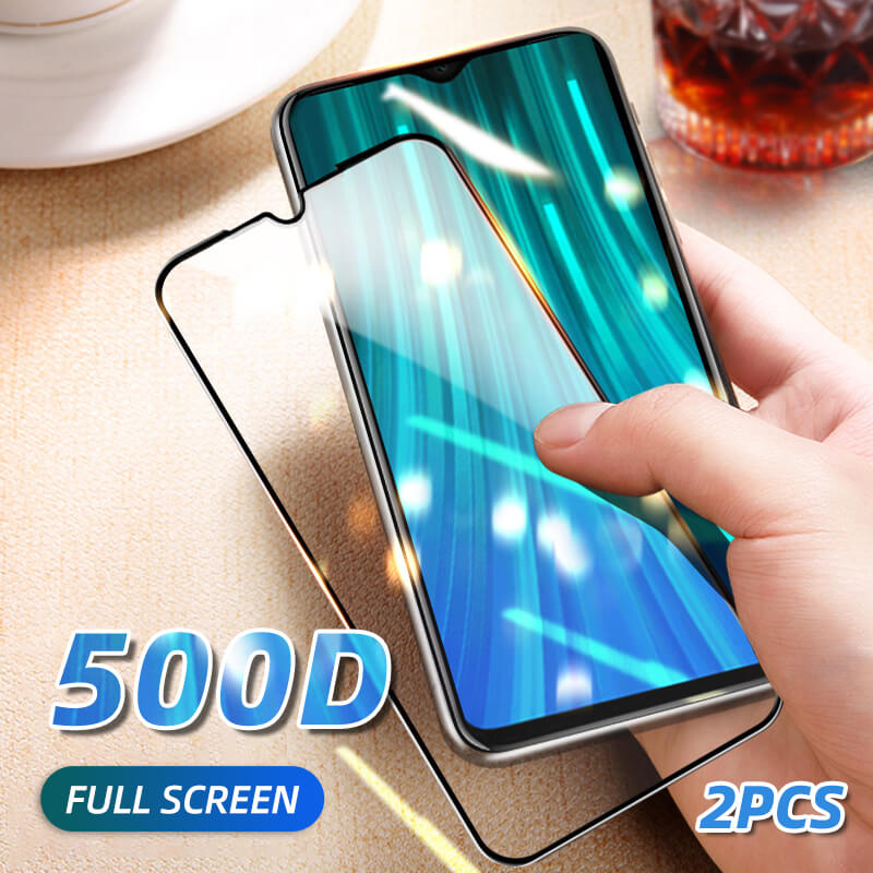 2PCS Full Cover Tempered Glass For Xiaomi Redmi Note 7 Protective Glass Redmi Note 8 Pro 8 8A 7 7A Note 5 6 K20 Screen Protector