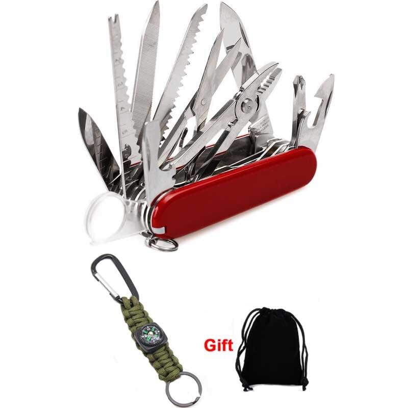 Multi überleben Messer Schweizer Taschen Messer EDC Armee Folding messer Überleben Im Freien Camping Werkzeug multiuso werkzeug Tasche Jagd knive