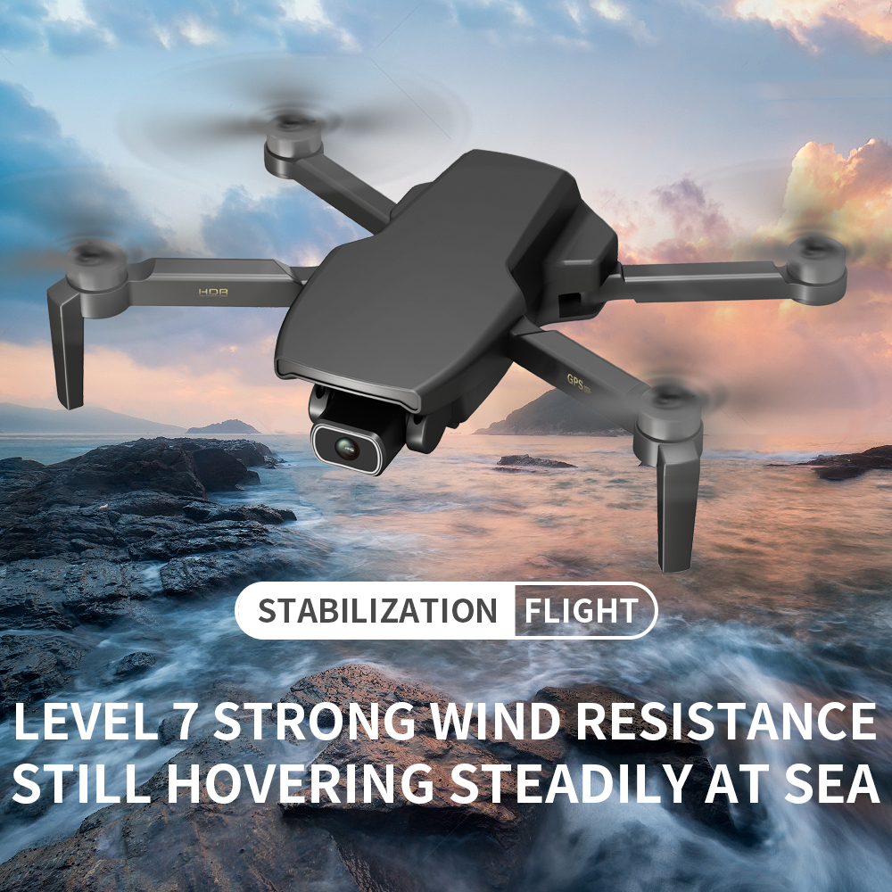 L108 Drone GPS 5G WiFi 4K FPV Profesional HD Camera RC Folding Quadcopter Brushless Motor Drone 28mins Flight Time RC Helicopte