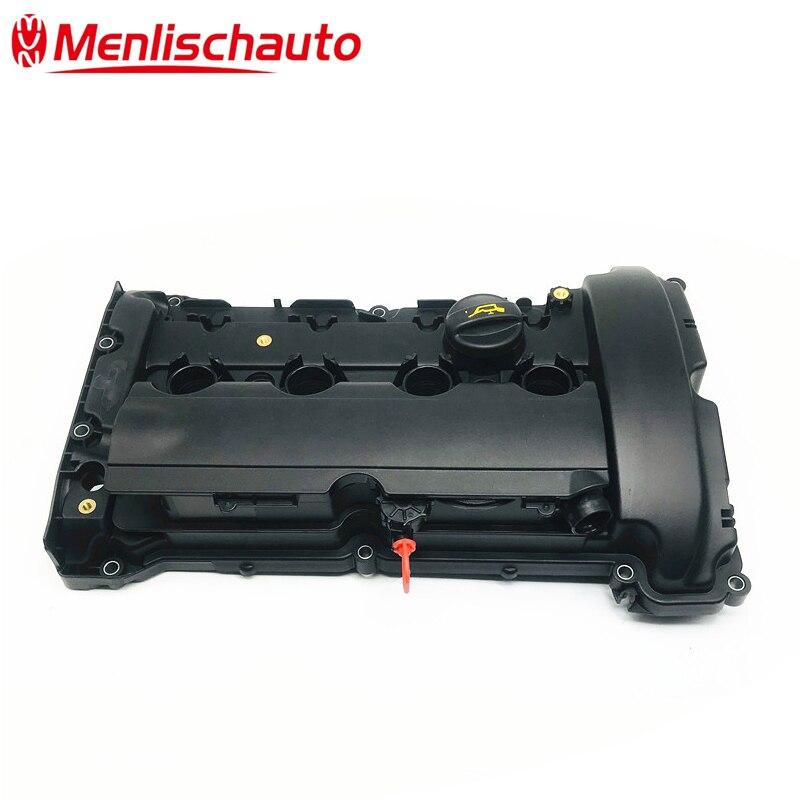 새로운 v759886280 엔진 실린더 밸브 커버 및 가스켓 v759886280 푸조 207 208 308 508 3008 5008 시트로엥 c4 c5 1.6 t