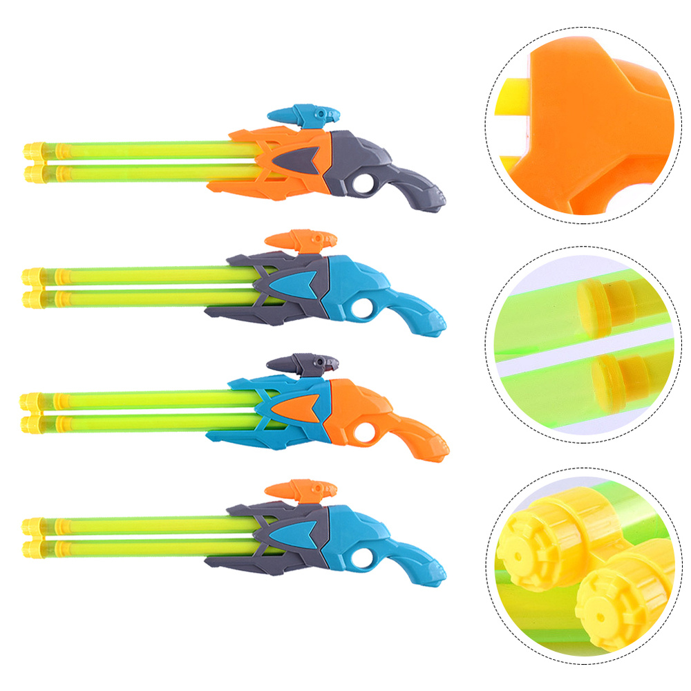 4pcs Water Shooter Water with Double Nozzles Kids Play Water