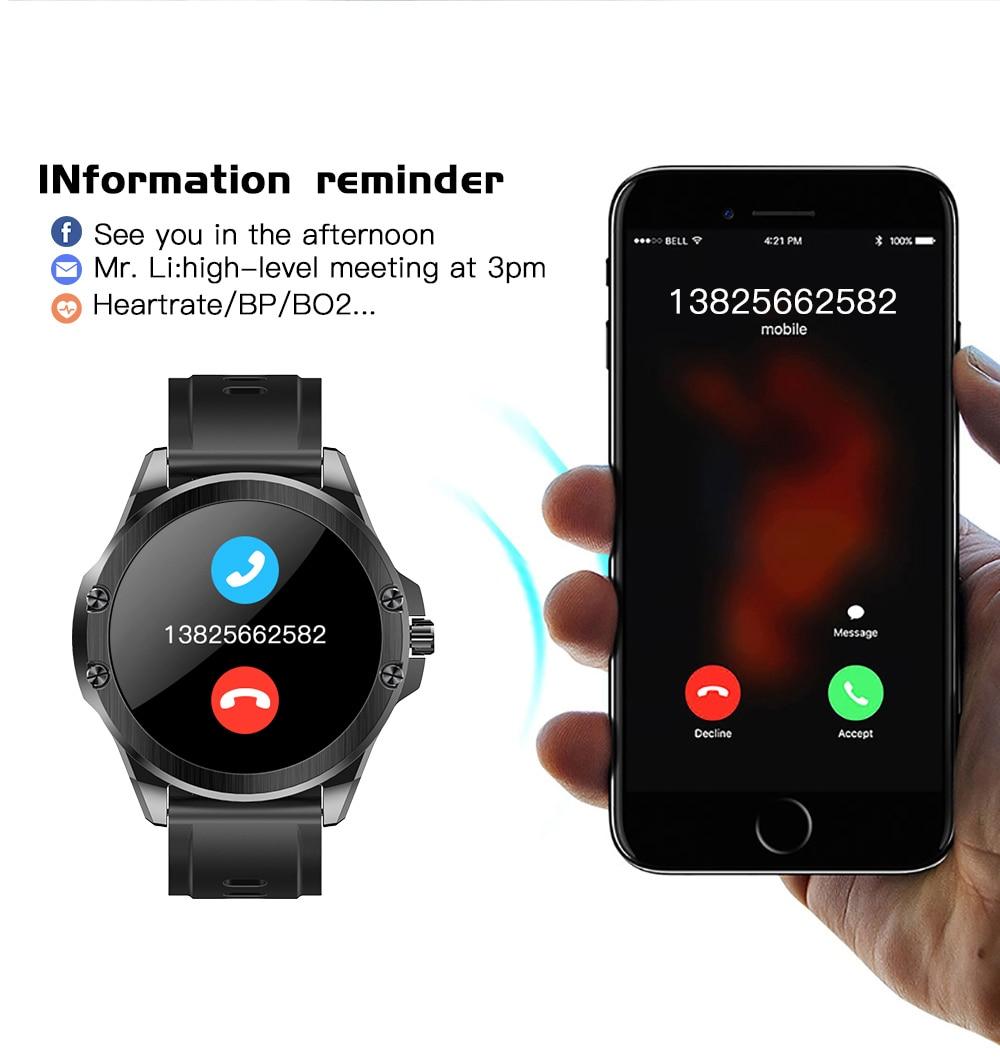H4eb873a3190e45709aba07c04166cba3e CYUC S11 Smart watch men HD Full round Screen IP68 Waterproof