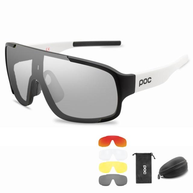 Poc photochromic polarizado ciclismo óculos de sol ao ar livre da bicicleta do esporte das mulheres dos homens mountain bike mtb ciclo eyewear 2