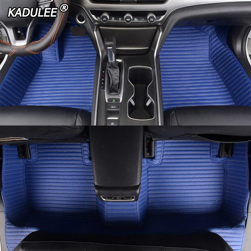 PEUGEOT 206 207 307 308 ALL MODELS CC SW Car Floor Mats Black Carpet /& BLUE TRIM
