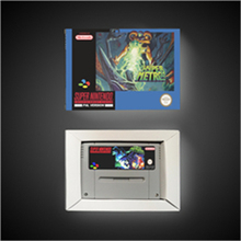 Super Metroided Hyper Version    EUR Version RPG Game Card Battery Save With Retail Box