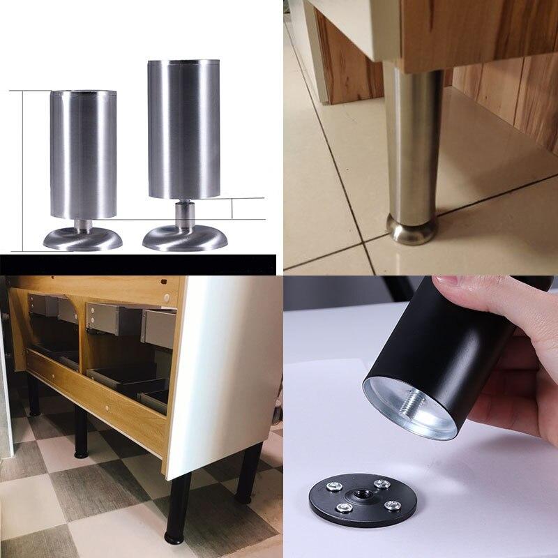 Купить металлические ножки для стола регулируемые по высоте 4 шт/компл
