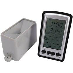 Bezprzewodowa stacja pogodowa z deszczownicą do pomiaru temperatury wewnątrz/na zewnątrz rejestrator temperatury w Zewnętrzne narzędzia od Sport i rozrywka na