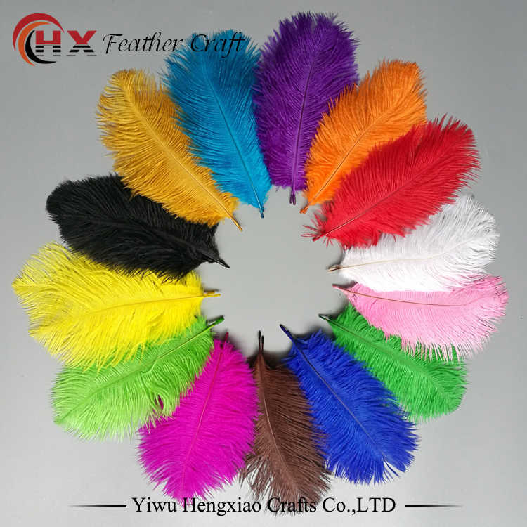 High Quality White ostrich feathers 10-100 pcs 6-28 inch//15-70cm Decorations