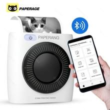 PAPERANG P2 poche Mini 58mm Portable Bluetooth imprimante téléphone Photo connexion sans fil HD imprimante détiquettes thermiques 1000mAh batterie