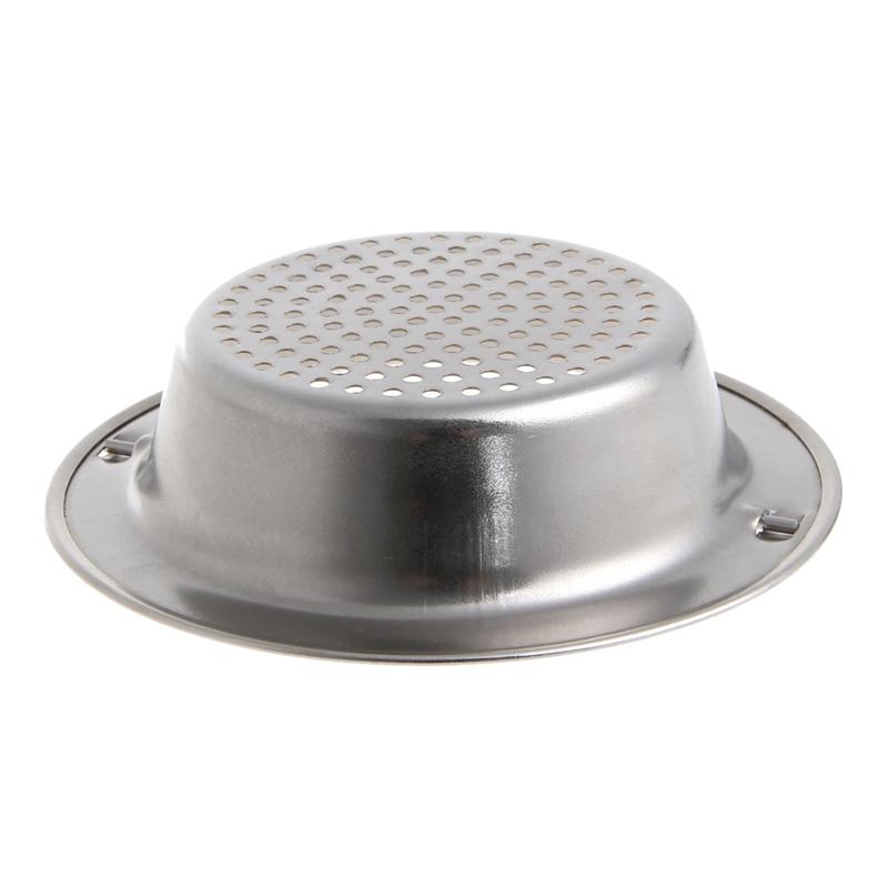 Kitchen Sink Strainer Waste Plug Drain Stopper Filter Basket Stainless Steel