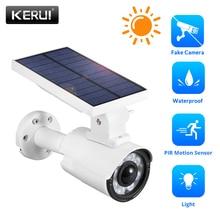 KERUI Fake Camera Villa Lawn Induction Street Lamp Wall  Solar Charging Waterproof IP66 Outdoor LED Light