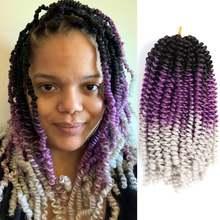 Dairess nubian Пружинные плетеные волосы вязанные крючком косы