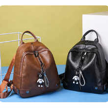 Backpack High Quality Youth PU Leather Backpacks for Teenage Girls Female School Bag Hot Sale For Women - DISCOUNT ITEM  35% OFF Luggage & Bags
