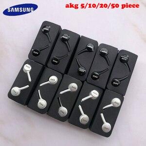 Image 1 - SAMSUNG AKG kulaklık EO IG955 toptan 5/10/20/50 adet kulak Mic tel kulaklık SAMSUNG Galaxy s10 S10 + S9 S8 Smartphone
