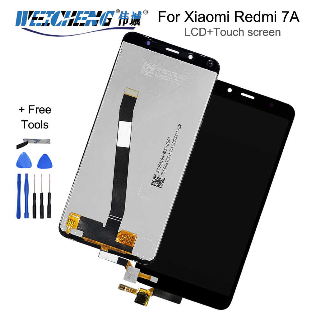 "5.45in ""Für XiaoMi Redmi 7A LCD Display + Touch Screen Für Redmi 7A lcd Digitizer Sensor Glas Panel + kostenlose tools"