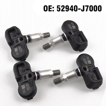 4PCS Car Tire Pressure Monitor Sensor TPMS 433MHZ 52940J7000 for Kia Ceed CD 2018 2019 2020 Car styling