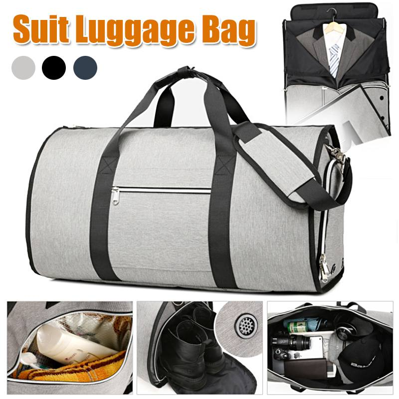 Osmond Travel Bag Multifunction Large Capacity  Waterproof Duffle Men Bag For Trip Suit Storage Hand Luggage Bags Shoe Pouch