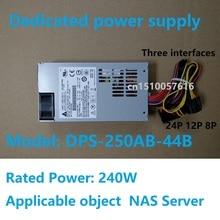Dedicado nas power DPS 250AB 44B cabo de saída três interface fonte de alimentação computador anexo