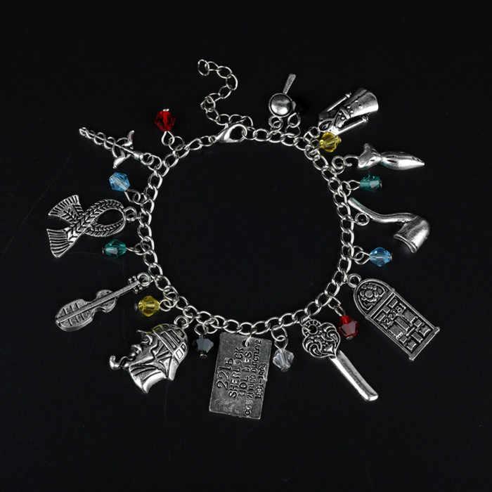 TV biżuteria gra o tron nieznajomego rzeczą Riverdale Charm bransoletki bransoletki Sherlock słodkie kłamstewka bransoletki przyjaźni