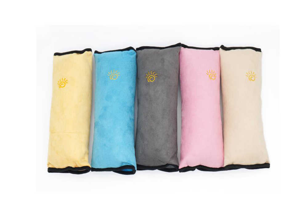 Correa de seguridad para bebés y niños, almohada para cinturones de seguridad Protección de hombro Estilo Universal para coche
