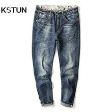 Top Quality Hot Sale Fashion Brand Men Jeans Straight Autumn