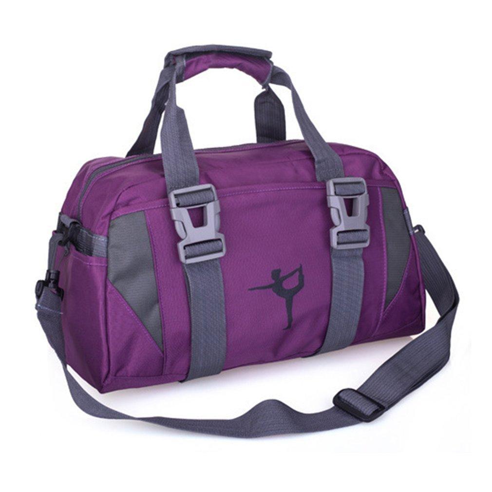 Fashion Waterproof Yoga Bag NylonOxford Cloth Fitness Bag For Women And Men Large Capacity Travel Gym Bag Shoulder Crossbody