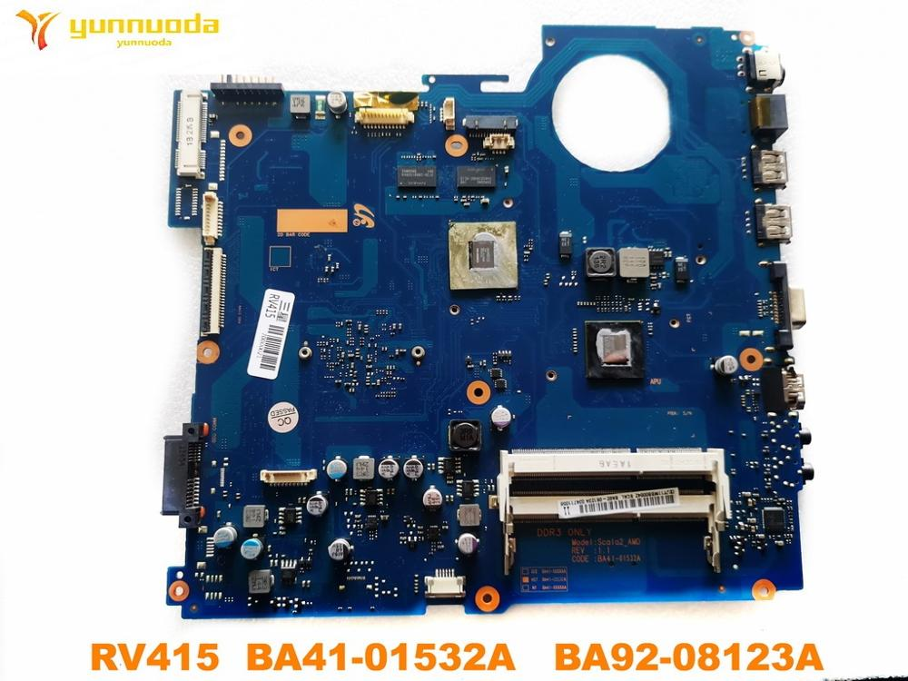 Original For Samsung RV415 Laptop Motherboard RV415  BA41-01532A   BA92-08123A Tested Good Free Shipping