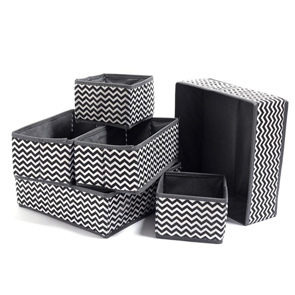 6/8Pcs Multi-grids Unterwäsche Lagerung Schublade Veranstalter Lagerung Box Ordentlich Socken Bh Krawatten Schublade Ordentlich Teiler praktische Grid underwe
