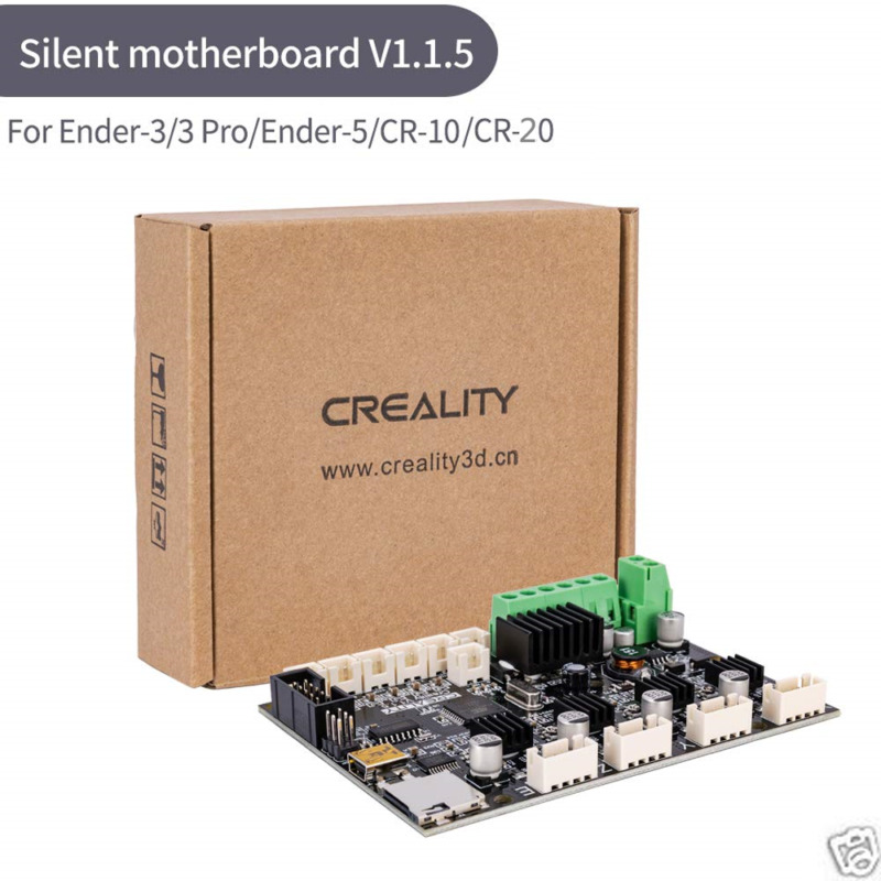 Creality Ender 5 3 /3 Pro V1.1.5 Silent Mainboard Quiet Board TMC2208 3D-Drucker Hot 3D Motherboard
