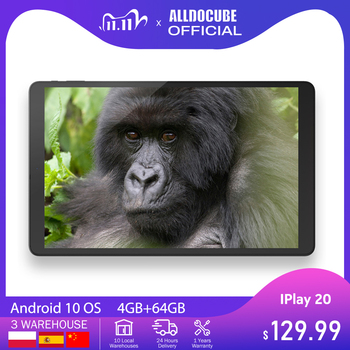 ALLDOCUBE IPlay20 10.1 Inch Android 10 Tablet 4GB RAM 64GB ROM Octa Core Tablets PC 1920*1200IPS iplay 20