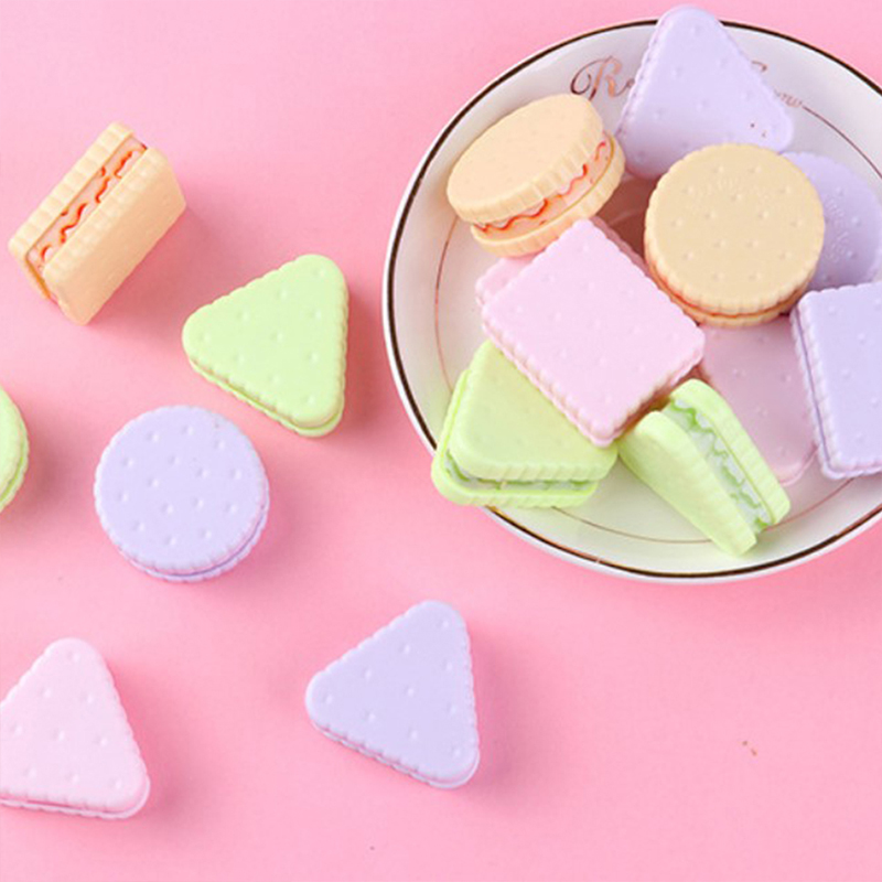 1 Pcs Cute Cookie Sharpener For Pencil School Office Supplies Creative Stationery item back to school Lovely