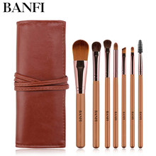 7pcs/set Makeup Brushes Set Foundation Powder Blush Highlighter Eyeshadow Brush Premium Eye Makeup Brush Professional(China)