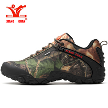 XIANG GUAN Men Hiking Shoes Women Waterproof Outdoor Jogging Sneakers Camping Climbing Trekking Shoes Tactical Boots цена и фото