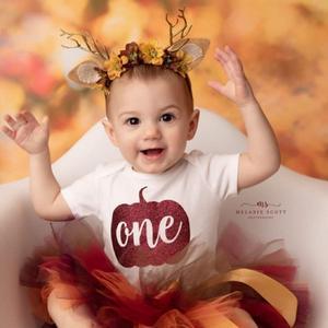 Новинка, коричневая юбка-пачка для маленьких девочек 1 год, одежда для первого дня рождения, костюм для малышей, костюм для фотосессии