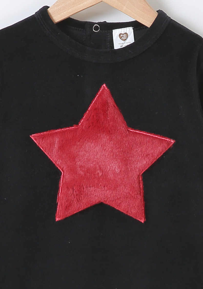Bebé pijama body niños ropa de manga larga ropa de niños corazón estrella bebé camiseta niño Niñas Ropa sudaderas mameluco