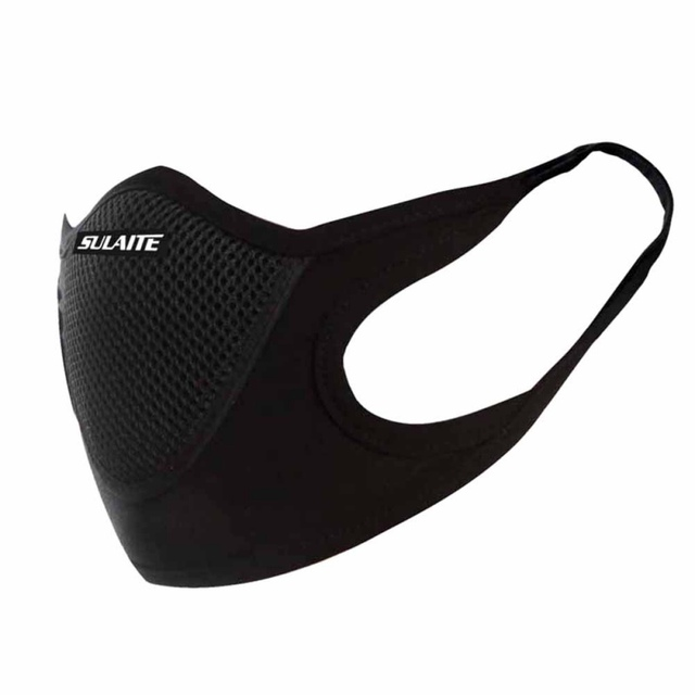 Activated Carbon Breathable Bicycle Anti-fog Mask PM 2.5 Dustproof Windproof Protective Bike MTB Cycling Face Mask 1