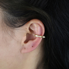 Earrings Spike-Cuff Cartilage-Ear-Bone-Earrings No-Piercing Girl Women for Punk