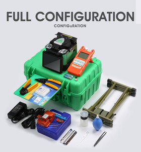 Image 5 - A 80S Green Automatic Fusion Splicer Machine Fiber Optic Fusion Splicer Fiber Optic Splicing Machine Optical Welding Machine
