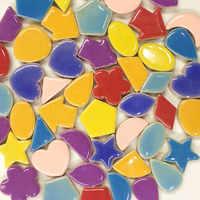 Креативная керамическая мозаичная плитка s DIY Хобби Ремесло Искусство ручной работы декоративные материалы различные смеси нерегулярная п...