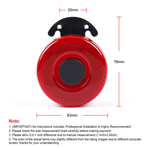 Image 5 - DC 12V 24V 105dB With LED Warning Siren Sound Signal Backup Alarms Horns  Beep Reverse Air Horn for the Car Boat Truck TT102098