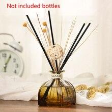 Портативный ароматизатор ротанга палочки воздушный аромат очищающий поддельный цветок эфирное масло без огня Арома диффузор набор для комнаты автомобиля офиса