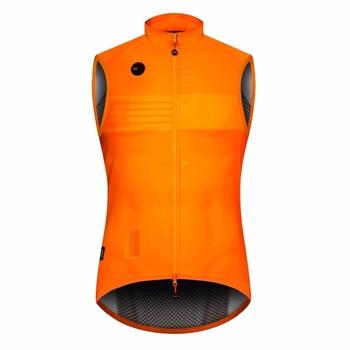 2020 pomarańczowa koszula jesienna jakość lekka wiatroszczelna kamizelka rowerowa mężczyźni lub kobiety kolarstwo windbreak kamizelka mtb wind vest tanie i dobre opinie SDIG Poliester Lycra Modalne Mikrofibra Rayon spandex Octan Wiskoza Akrylowe Polieterosulfonowa Anty-pilling Anti-shrink