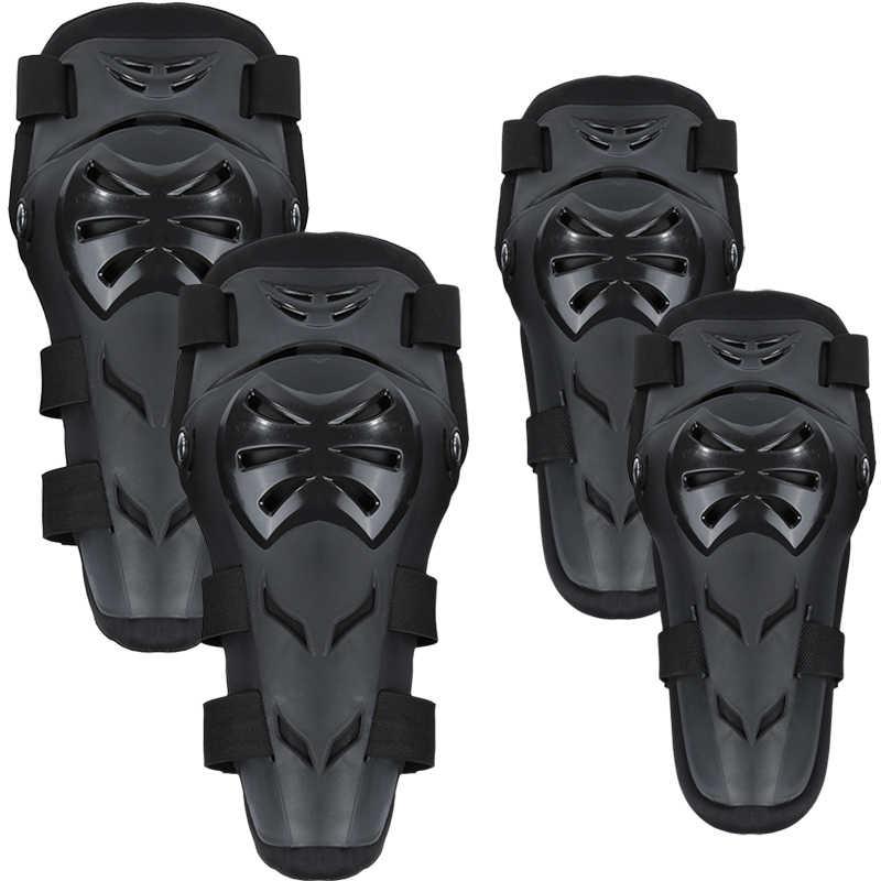 4 teile/satz Motorrad Radfahren Racing Skating Knie Ellenbogen Shin Rüstung Schutz Protector Motocross Sport Getriebe Pad Körper Guards Schutzhülle