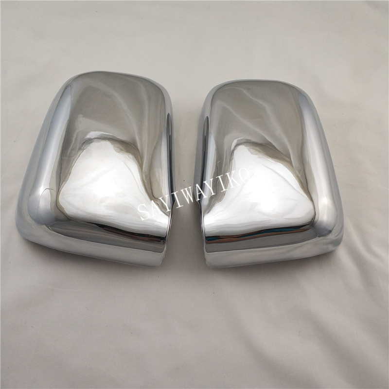 ABS Chrome door Rearview door mirror covers Automobile exterior fitting For <font><b>Honda</b></font> RD1 RD3 CRV <font><b>CR</b></font>-<font><b>V</b></font> 1995 1996 <font><b>1997</b></font> 1998 1999 <font><b>2001</b></font> image