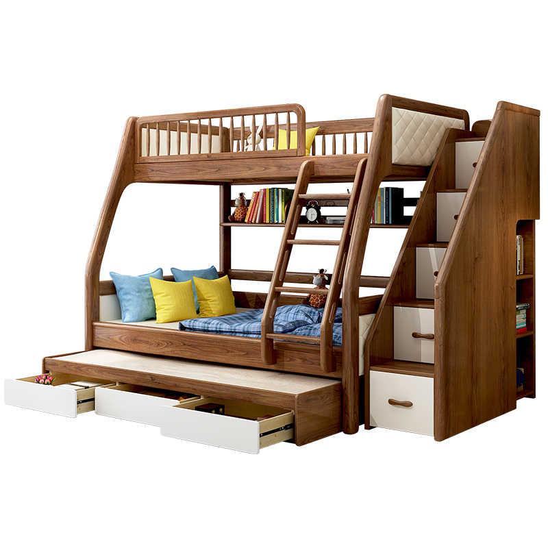 On Sale Cheap Price Modern Kids Children Bedroom Furniture Triple Bunk Bed Bedroom Sets Aliexpress