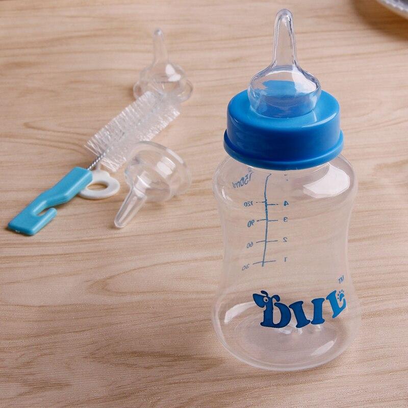 Feeding Nursing Bottle Nipple Brush Kit For Pet Dog Puppy Cat Kitten Hot Good Quality