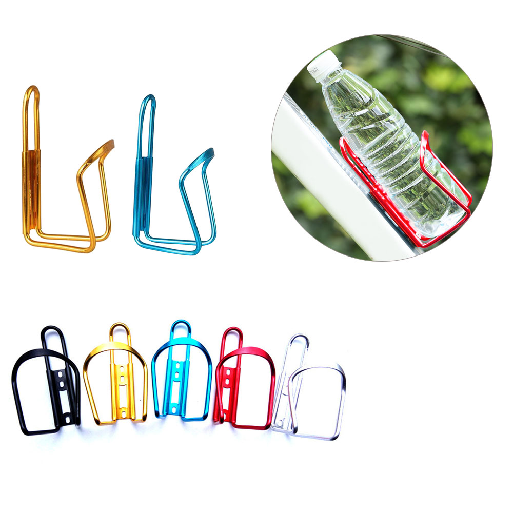 Aluminum Alloy Bicycle Water Bottle Holder Outdoor MTB Mountain Bike Bottle Cage Cycling Cup Drink Bottle Cage