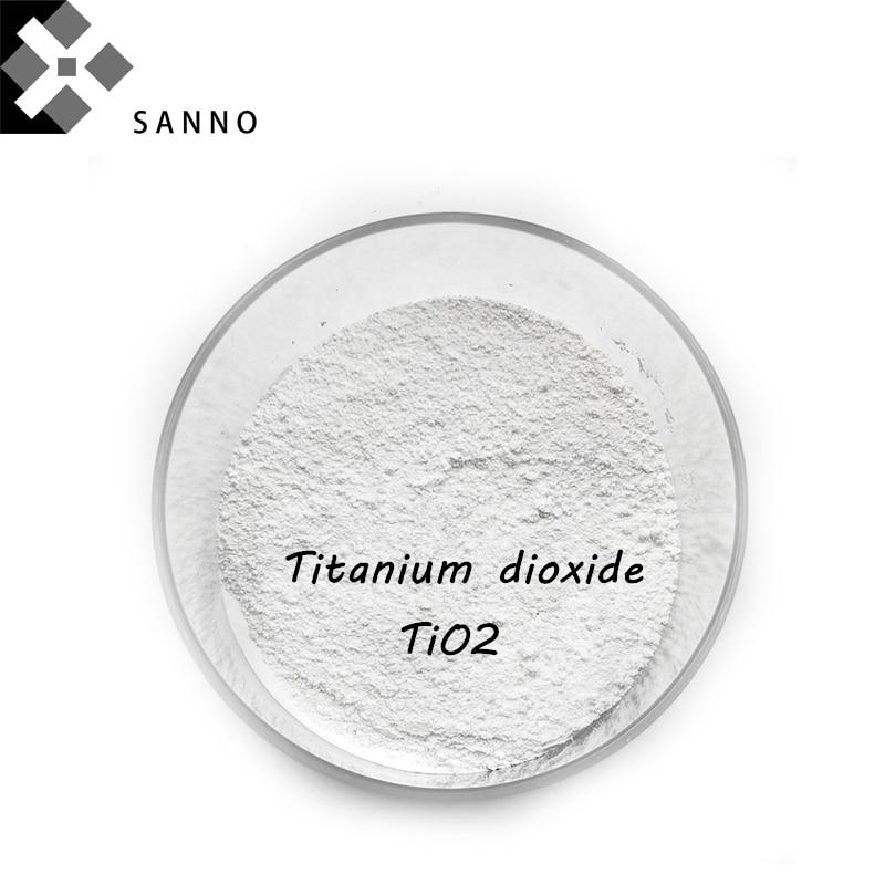 Titanium Dioxide Powder 20 Nano White Fused Titanium Powder TiO2 Use For Paint And Lnks